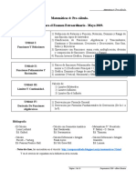 Matematicas IV - Mayo 2019