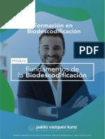 FUNDAMENTOS DE LA BIODESCODIFICACIÓN __ Pablo Vazquez Kunz