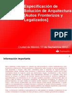 MX Solucion Tecnica Arquitectura M020847 MX