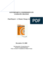 Governor's Commission on Climate Change Final Report - 12/15/08