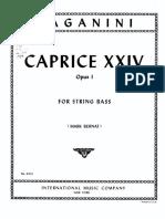 Paganini - Capriccio n24