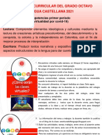 Generalidades para el I- P virtual Español de 8°