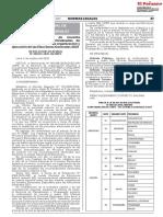 NORMA LEGAL aprueba conformación de 94 ODPEs octubre 2020