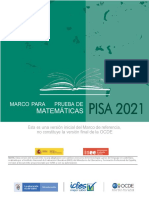 PISA 2021 Marco de Evaluación