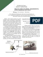Calibration of Hydraulic Force Machines