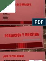 POBLACION Y MUESTRA- GRUPO