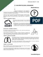 41-2020 El tabaco y sus efectos en el organismo