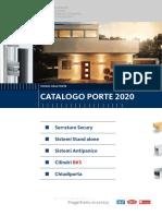 12_2020 - Catalogo Porte 2020