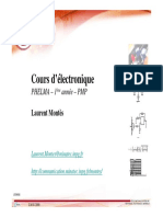 Cours Electronique 2008 Grenoble