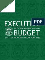 Whitmer unveils proposed 2022 Michigan budget