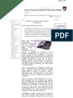 artigo O Direito do Preso de se Prover Alimentos - 09.2005