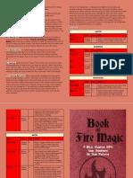 Book of Fire Magic (MicroChapRPG Magic-1)