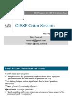 CISSP Cram Session
