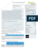 Ishares Developed World Index Fund (Ie) Class d Eur Factsheet Ie00bd0ncm55 de de Individual
