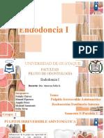 PULPITIS IRREVERSIBLE Y REABSORCIÓN DENTINARIA GRUPO 2