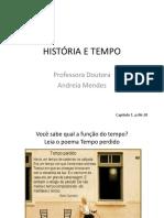 HISTÓRIA E TEMPO Capitulo 1 6 ano