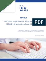 """GACH recomienda destinar recursos de """"forma sostenida"""" a secuenciación de nuevas cepas"""