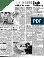 Sports Section April 30 1981