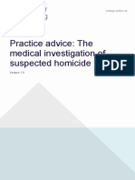 the medical investigation of suspected homicide