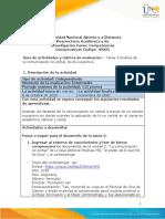 Guía de actividades y rúbrica de evaluación – Tarea  3 Análisis de la comunicación no verbal, texto expositivo.-convertido