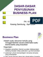 Pk3 Business Plan