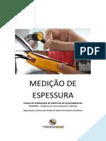 MEDIÇÃO DE ESPESSURA - TREINAEND