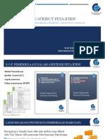 12 Pemeriksaan Basis Data Dan Atribut Peta RTRW