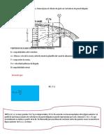 Clase 3 y 4 Deduccion de ec general para el calculo de gasto en vertedores rectangulares de pared delgada.