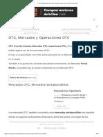 ▷ OTC Mercados Over the Counter ¿Que son, Como Funcionan_