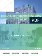 Yealink IP Phone Portfolio 20200821 Español