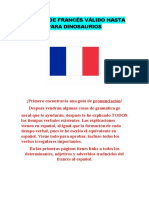 Manual de Francés Válido Hasta Para Dinosaurios