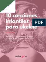 10 Canciones Infantiles Para Ukelele Gue8pe