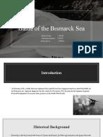 Battel of Bismarck