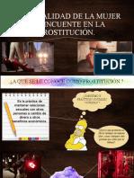 PERSONALIDAD DE LA MUJER DELINCUENTE EN LA PROSTITUCIÓN
