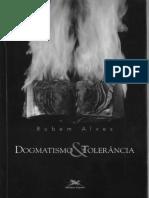 Livro Dogmatismo e Tolerância - Rubem Alves