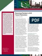 Reversing Pakistan's Drift Toward Radicalism
