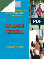 EvaluacionPsicosocial MINSA (Alcohol y Suicidio)