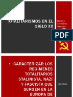 Totalitarismos en el siglo XX