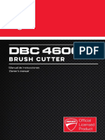 Manual Usuario Desbrozadora Dbc4600r