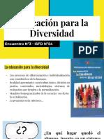 Educación Para La Diversidad - Clase 3