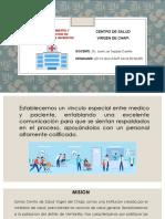 Centro de Salud Virgen de Chapi - Leyva Baltazar Hans Edward