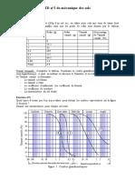 TD 2 classification des sols