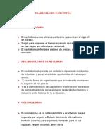 DESARROLLO DE CONCEPTOS