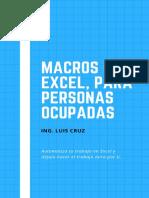 Libro Macros Excel
