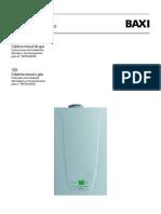 Baxi Neodens Plus 24_24 F Gas Boiler Instalación