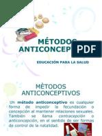 METODOS ANTICONCEPTIVOS  MODIFICADO