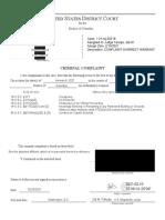 Kuehne Colon Konold Konold - Complaint Affidavit