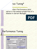 Informatica Performance tuning