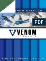 2019-2020  VENOM  Variator katalog