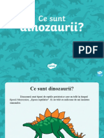 Ce Sunt Dinozaurii_ - Prezentare PowerPoint